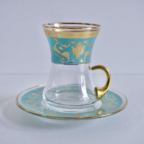 Chai glass チャイグラス_Tulip Green