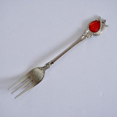 フォーク<br>Silver Tulip Red