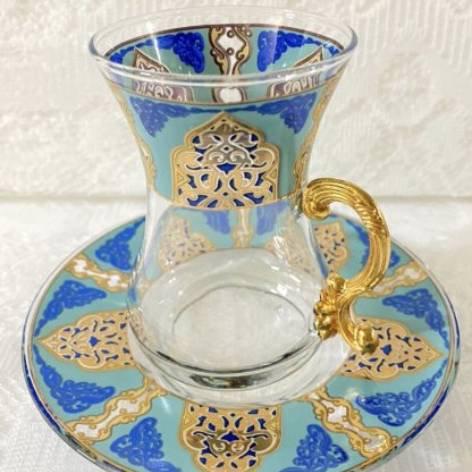 チャイグラス<br>Suidou Turquoise Blue