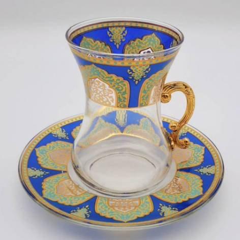 チャイグラス<br>Tile Royal Blue