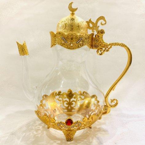 Tea Pot<br>Gold