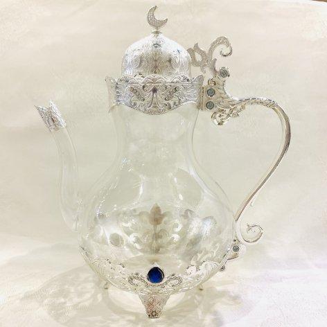 Tea Pot<br>Silver
