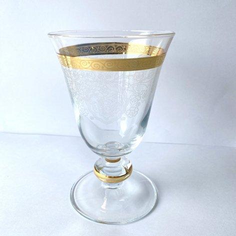 ワイングラス(M)<br>Gold Lace