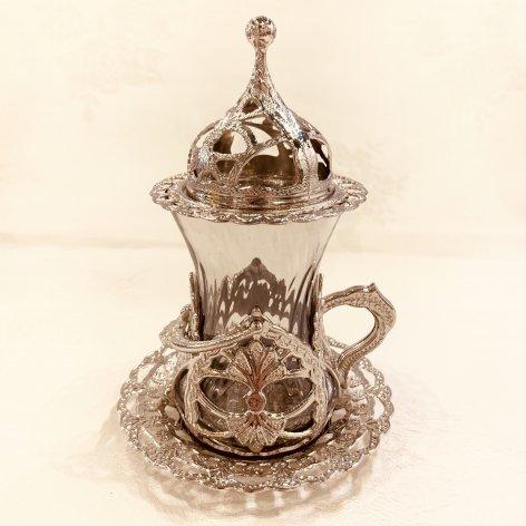 チャイグラス<br>Silver Gray