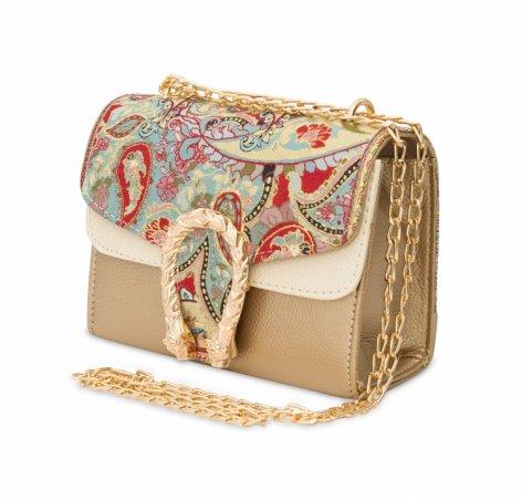 イスラム柄2Way Chain Bag<br>Tulip Buckle(S) Paisley