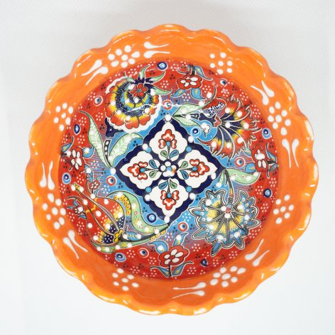 デコレーションボウル(M)_Orange