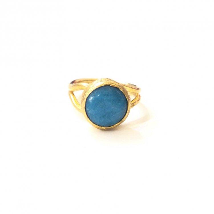 トルコ 天然石リング<br>Turquoise