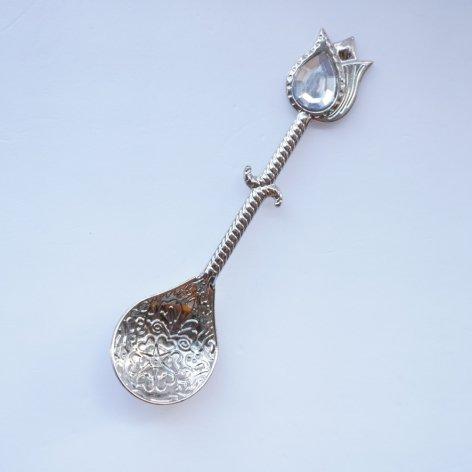 スプーン<br>Tulip Clear Silver