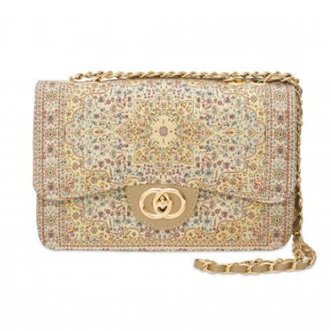 イスラム柄2Way Bag<br>Elegant Gold