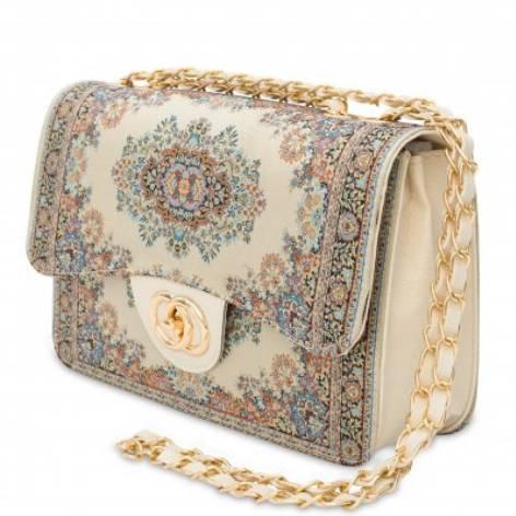イスラム柄2Way Bag<br>Elegant Beige