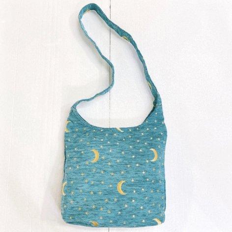 ショッピングバッグ<br>Moon Turquoise