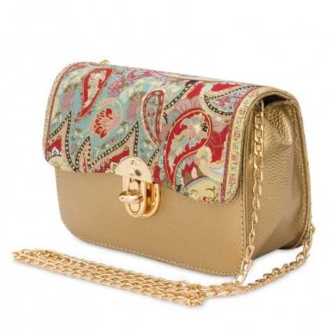 イスラム柄Chain Bag<br>Gold×Paisley