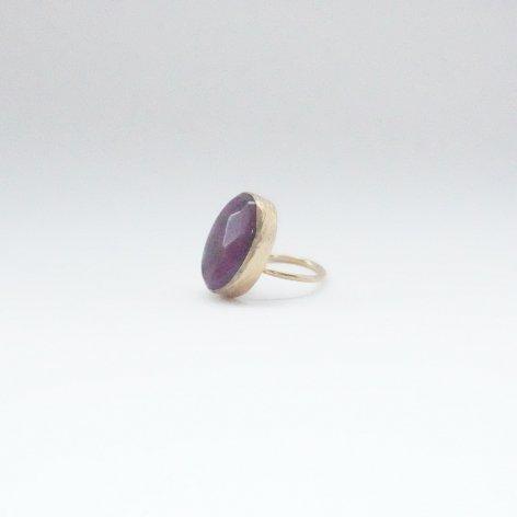 トルコ 天然石リング<br>Purple