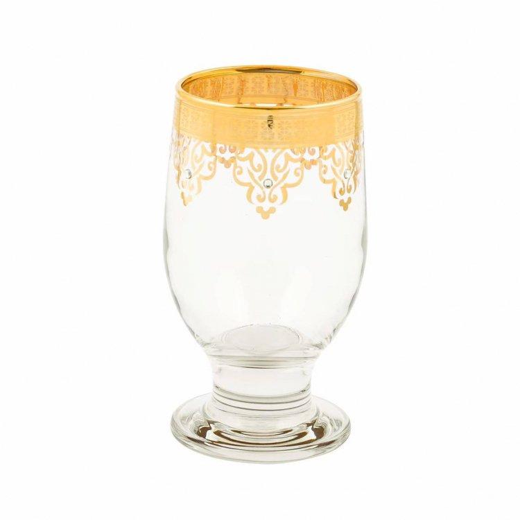 グラス(ABKA KRISTAL)<br>Gold Round stone