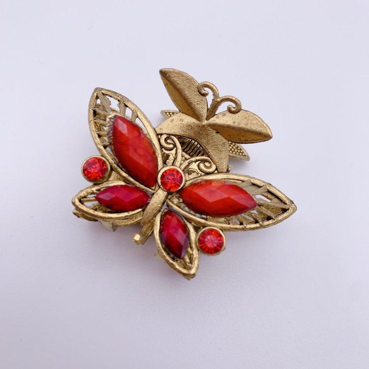 バンス クリップ ミニ<br>Butterfly Red