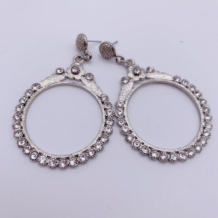 ピアス<br>Round Hoop Silver
