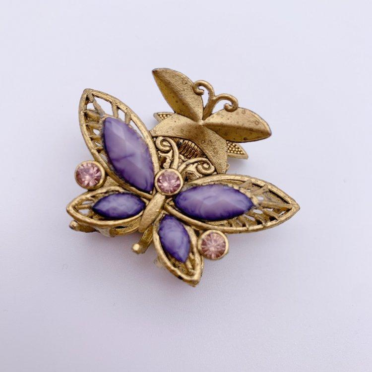 バンス クリップ ミニ<br>Butterfly Purple