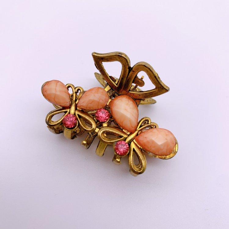バンス クリップ ミニ<br>W Butterfly Pink