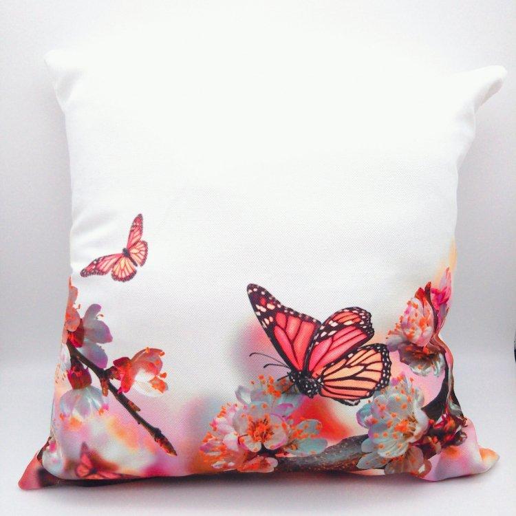 クッションカバー<br> Butterfly&Sakura