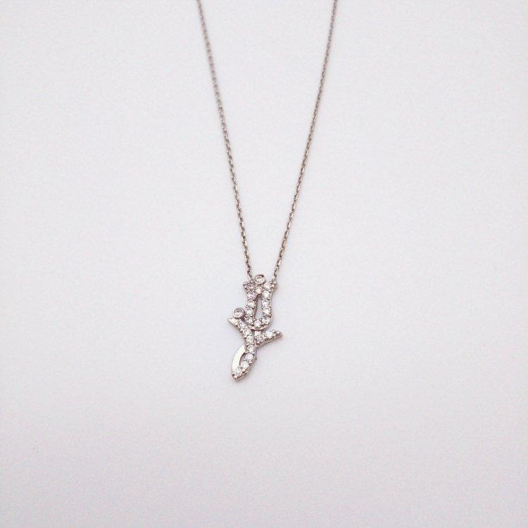 ネックレス<br>Tulip Silver