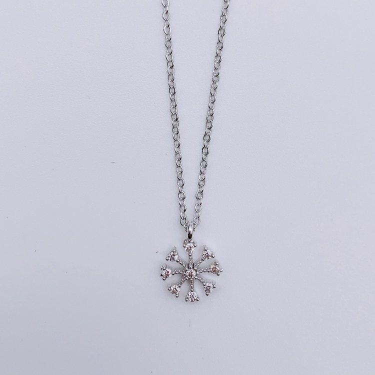 ネックレス<br>Crystal Silver