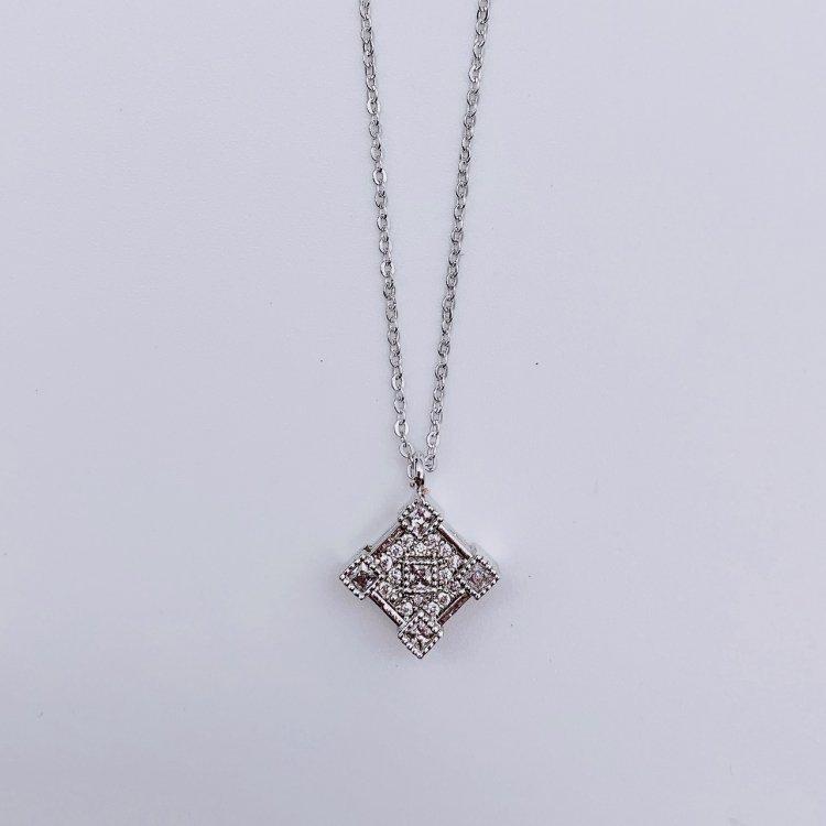 ネックレス<br>Square Silver