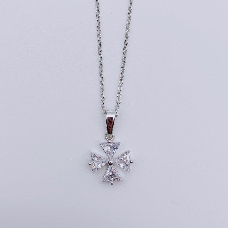 ネックレス<br>Flower Silver