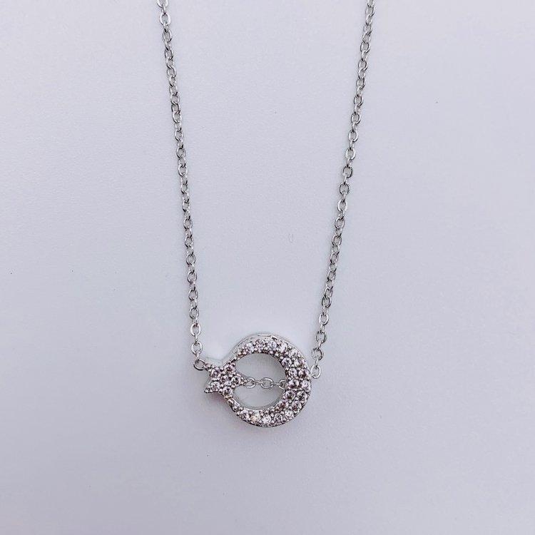 ネックレス<br>Moon Star Silver