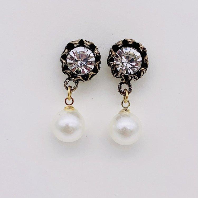ピアス<br>Antique Pearl