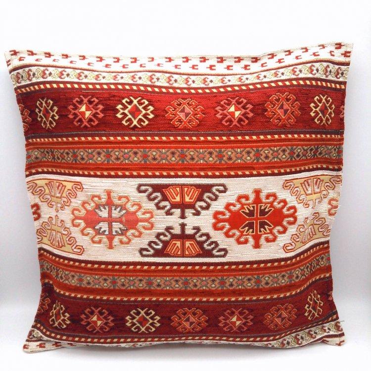 Cushion cover クッションカバー<br>Kilim Red