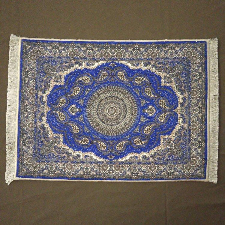 カーペット<br>Blue(約45cm×約60cm)