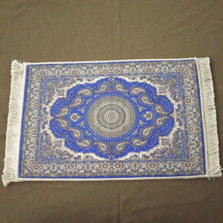 カーペット<br>Blue (約30cm×約45cm)