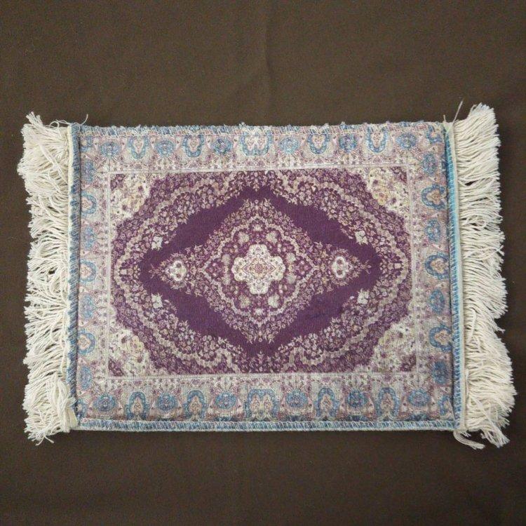 ミニマット<br>Purple(約20cm×約24cm)