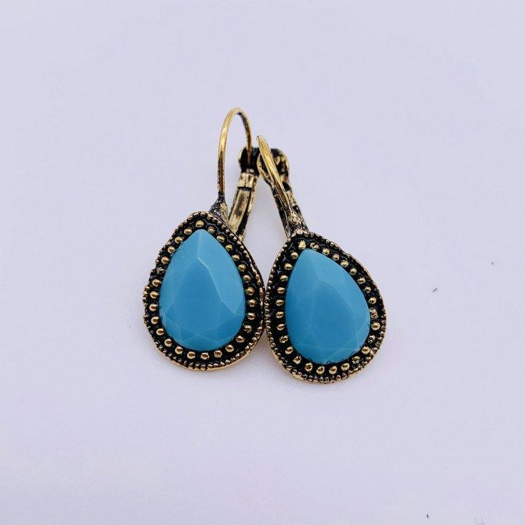 ピアス<br>Drop Turquoise