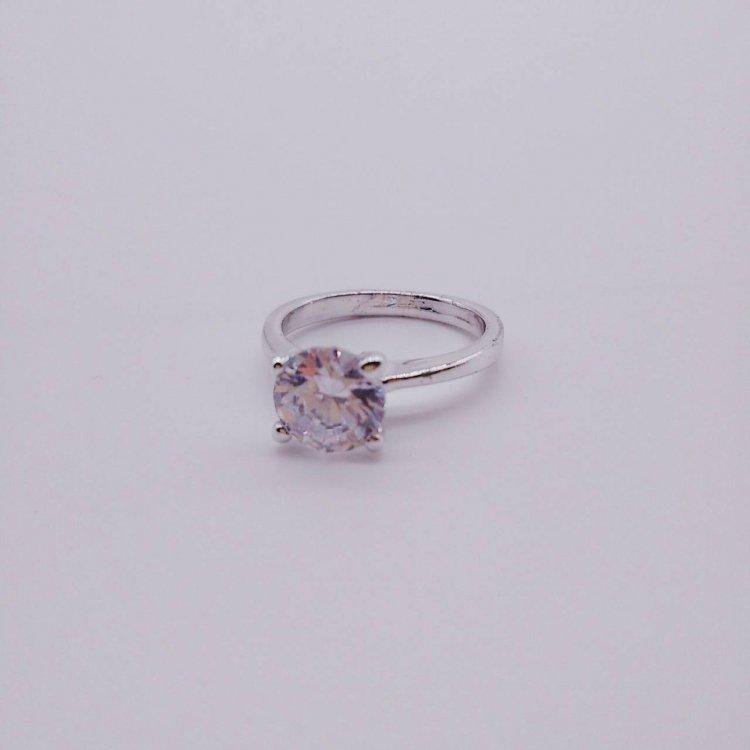 リング<br>Crystal Stone Silver