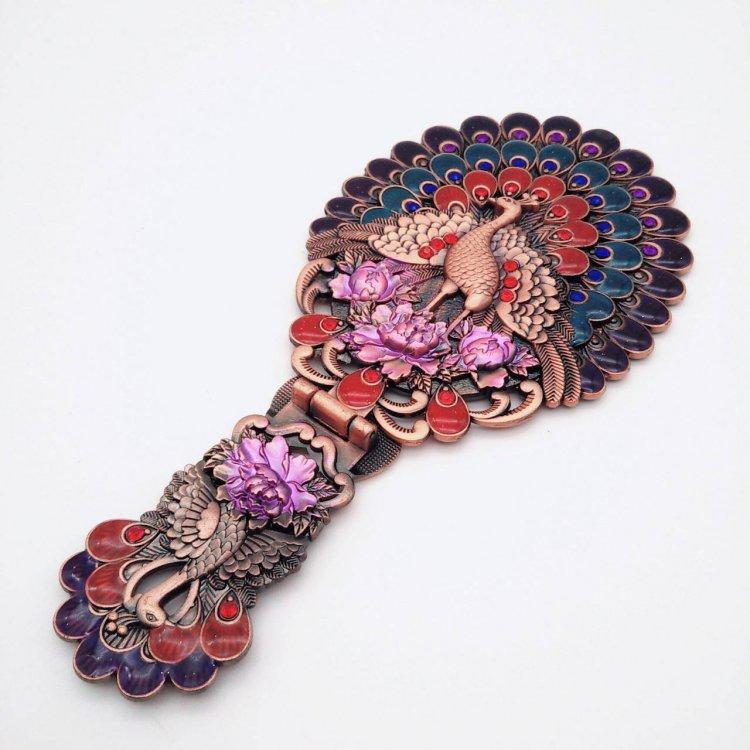 ミラー<br>Peacock Bronze Purple