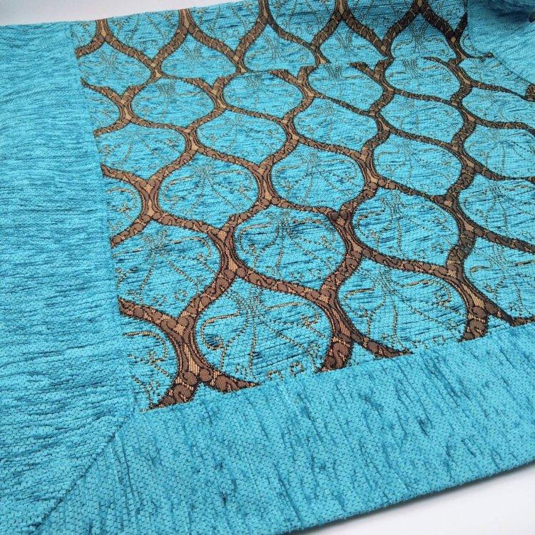 マルチカバー<br>Peacock Turquoise Blue(約60cm×約90cm)