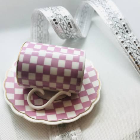 デミタスカップ&ソーサー<br>(Lavin)<br>Pink