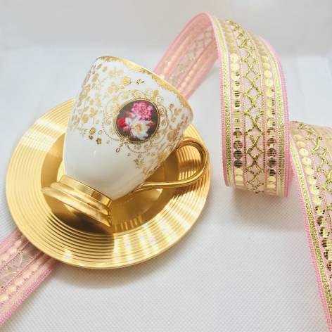 デミタスカップ&ソーサー<br>(ACAR)<br>White Gold