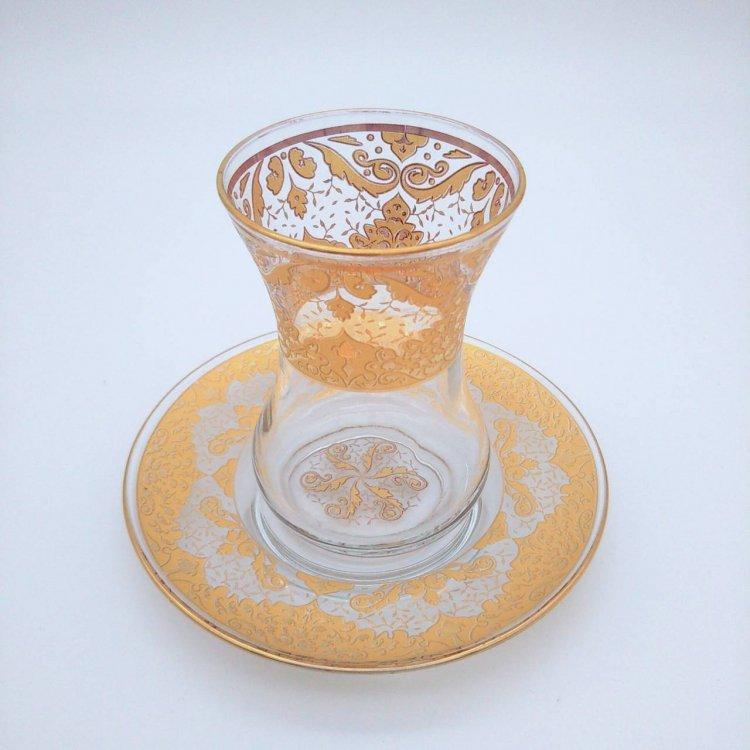 チャイグラス<br>Yellow(ハンドルなし)