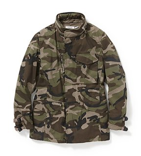 nonnative - TROOPER JACKET COTTON ARMY CLOTH WITH