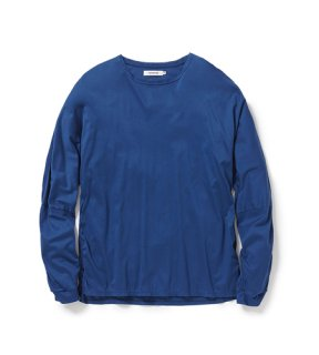 nonnative - ROAMER L/S TEE COTTON SMOOTH JERSEY (CORAL)