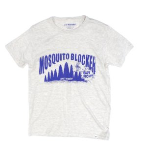and wander - mosquito blocker T (OFF WHITE)