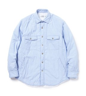 <img class='new_mark_img1' src='https://img.shop-pro.jp/img/new/icons1.gif' style='border:none;display:inline;margin:0px;padding:0px;width:auto;' />nonnative - WORKER PUFF SHIRT JACKET COTTON TYPEWRITER