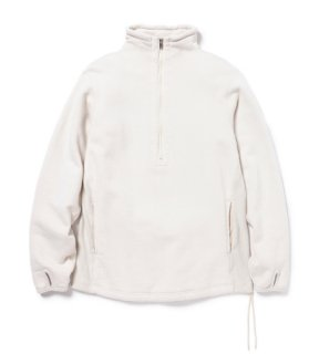 <img class='new_mark_img1' src='https://img.shop-pro.jp/img/new/icons1.gif' style='border:none;display:inline;margin:0px;padding:0px;width:auto;' />nonnative - CYCLIST HALF ZIP COTTON SWEAT (OFF WHITE)