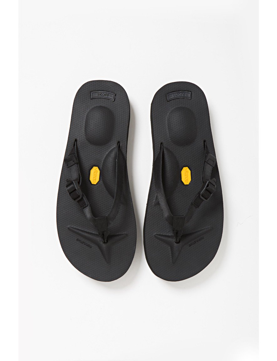 nonnative - MARINER SANDAL by SUICOKE (BLACK)