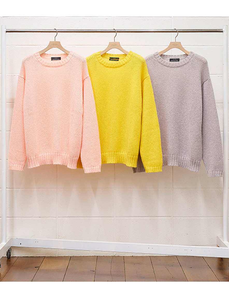 <img class='new_mark_img1' src='https://img.shop-pro.jp/img/new/icons1.gif' style='border:none;display:inline;margin:0px;padding:0px;width:auto;' />UNUSED - 3G crew neck knit