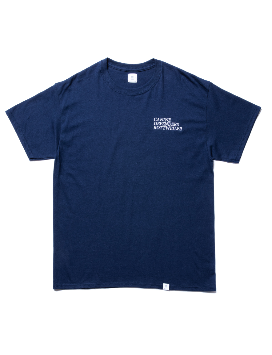 <img class='new_mark_img1' src='https://img.shop-pro.jp/img/new/icons1.gif' style='border:none;display:inline;margin:0px;padding:0px;width:auto;' />ROTTWEILER - CANINE Tee (NAVY)