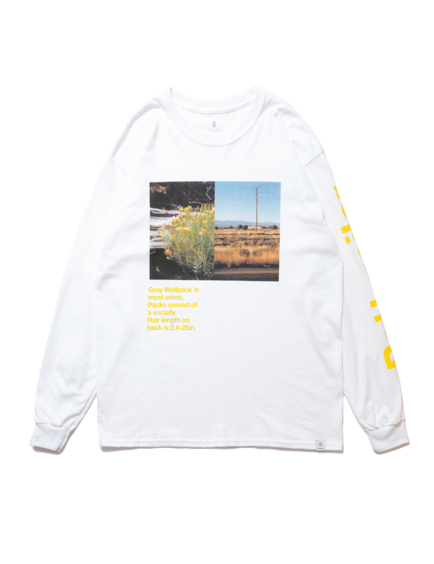 <img class='new_mark_img1' src='https://img.shop-pro.jp/img/new/icons1.gif' style='border:none;display:inline;margin:0px;padding:0px;width:auto;' />ROTTWEILER - Flower LS Tee (WHITE)