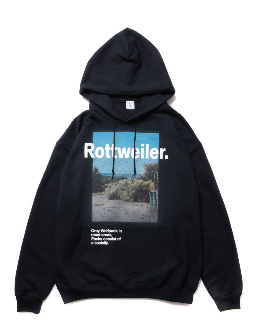 ROTTWEILER - Desert Photo Parka (BLACK)